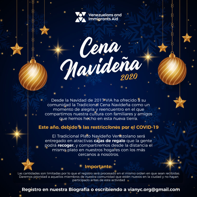 """Realizamos nuestra popular """"Cena Navideña"""" donde recordamos nuestra cultura venezolana, totalmente gratis."""
