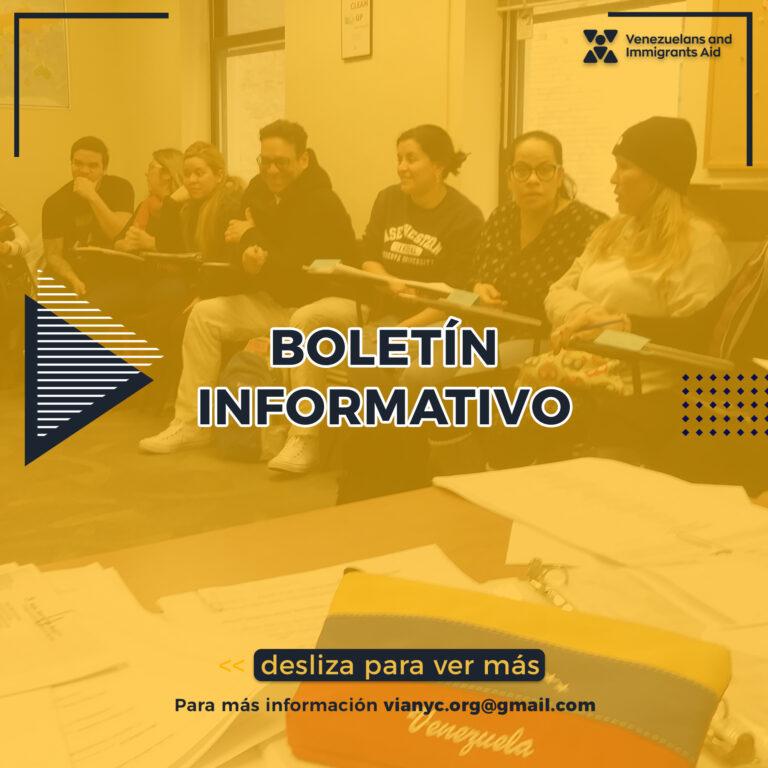 Mantenemos al día a la comunidad venezolana con nuestras actividades